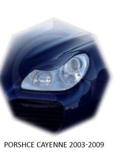 For Porsche Cayenne 955  03-06 Headlight Cover eyebrows Eyelashes eyelids
