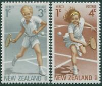 New Zealand 1972 SG987-988 Sport health set MNH