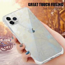 Phone Case For iPhone 11 Pro Max X XR 8 7 Shockproof Bumper Soft Clear Gel Cover