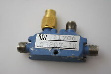 MAC C3207-10 Microwave RF Directional Coupler 12.4-18GHz 10dB coupling TESTED