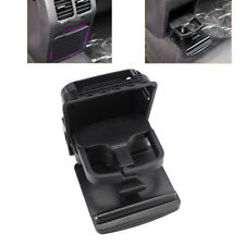 Rear Armrest Central Console Black Cup Holder for VW Jetta MK5 Golf MK6 GTI EOS