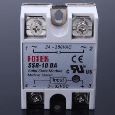 Solid State Relay 3-32VDC SSR-10DA 40A /250V DC SSR for Arduino Mega New