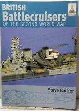Shipcraft 7 British Battlecruisers of the Second World War Steve Backer