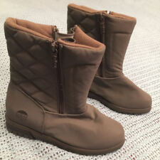 TOTES - Women's Winter Boots - Khaki Brown - Wide Width - Size 5 WW