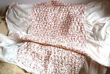Antique Style Floral Bedspreads