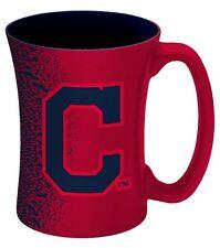 1 Cleveland Indians 14 oz. Sculpted Mocha Mug Coffee Cup