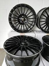 Axxion AX5 Alufelgen 8J x 18 Schwarz Glanz ET45 5 112 Seat Leon 1P 5F Felgen