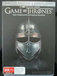 GAME OF THRONES Complete Season 7 (6-disc DVD set) Special Edition