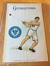 Vintage 1910 Georgetown University Hammer Thrower Athlete Murad S22 Tobacco Silk