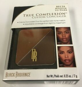 Black Radiance True Complexion Custom Concealer 8013A Medium To Dark New In Box