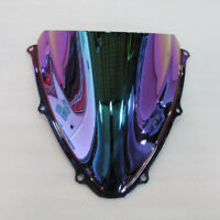 Windshield For 06 2007 Suzuki GSXR 600 750 K6 Iridium Deep Screen Double bubble