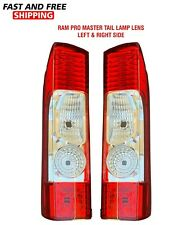 Dodge Ram Promaster 1500 2500 3500 Tail Light Lens Right Left Pair Set 2014-2020