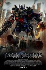 TRANSFORMERS 3: DARK OF THE MOON 11x17 MOVIE POSTER