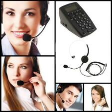 Noise Cancelling Microphone Headset Call Centre Office Telephone w/ Dialpad