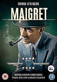 MAIGRET SERIES ONE (1) GENUINE R2 DVD ROWAN ATKINSON SHAUN DINGWALL VGC