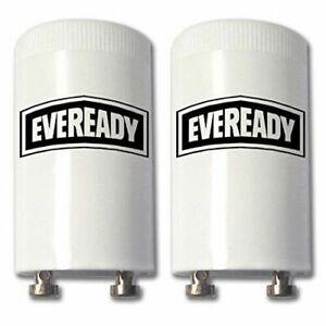 5 EVEREADY Fluorescent Starter 4-65W FSU 220-240V Flu Tube Start FS-U