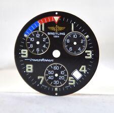 BREITLING Chrono HERREN UHR Transocean Chronograph ZIFFERBLATT / Dial