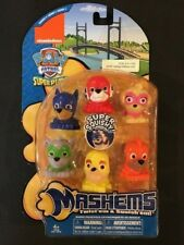 *NEW* LIMITED EDITION Complete 6 piece PAW PATROL PUPS series3  mashems gift set