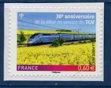 TIMBRE FRANCE AUTOADHESIF 2011 N° 0603 NEUF ** 30 ans mise en service du TGV