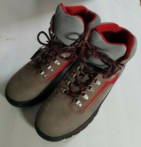 Timberland Mens Boots Size 12W - Tan Gray Red 12
