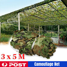 3 X 5m Military Shooting Hide Army Camouflage Net Hunting Woodlands Camo Netting
