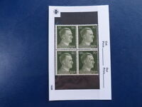 Nazi Germany Third Reich Hitler Block of 4 Unused Stamps in Sleeve-30 Pfg -17-39