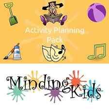 Activity Planning Pack - childminder, nursery, links to development areas!
