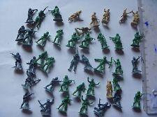 lot de 40 soldats américains japonais plastique 2cm
