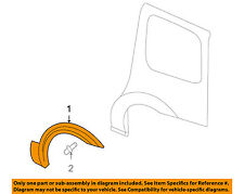 Pontiac GM OEM 05-06 Montana Side Panel-Wheel Opening Molding Right 15896772
