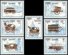 CAMBODGE N°879/885** Voitures  automobile 1989, CAMBODIA MNH Kambodscha