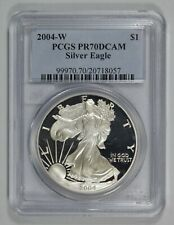 2004 American Eagle 1 oz 999 Silver Coin in Air-Tite Holder AE History