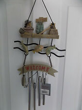 SPOONTIQUES # 6991 GONE FISHING WIND CHIME NEW IN BOX