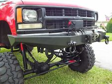 Chevy GMC Truck 1500 Front Winch Bumper K1500 K2500 1988-98' With Tow Points