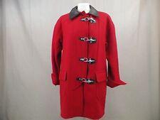 Paris Sports Club Coat Wool Blend Red  Women's Size 03