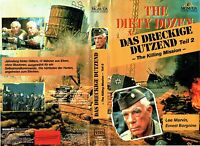 (VHS) Das Dreckige Dutzend Teil 2 - Lee Marvin, Ernest Borgnine, Ken Wahl (1985)