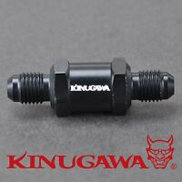 Kinugawa Turbo Oil Feed Line Filter 4AN / 400 Hole/cm^2 / Recycleable