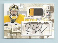 TIM THOMAS 2008/09 IN THE GAME ITG ULTIMATE PATCH & AUTO /9