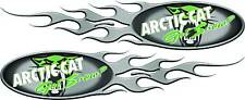 Arctic Cat Decal Trailer Flames Graphics Kit Snowmobile Dirt High Quality!!
