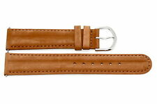 20mm Brown Padded Distressed Leather Watch Band Strap Fits Fossil Vintage Muse