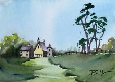 ACEO Miniature Painting by Bill Lupton - Heart of the Country