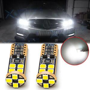 LED Xenon White Canbus Error Free W5W 2825 Parking Light Bulbs For Mercedes Benz