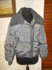 Manteau Blouson doudoune veste courte chaude gris CACHE CACHE T.1 34/36