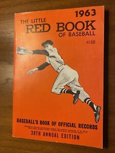 1963 The Little Red Book of Baseball Official Records Mickey Mantle Near Mint