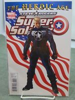 Heroic Age Super Soldier Steve Rogers #1 2nd Print Marvel Comics vf/nm CB2140