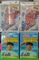 NEW & FACTORY SEALED 2021 Topps Heritage Baseball Blaster Box + 2 Hanger Boxes!
