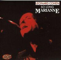 LEONARD COHEN So Long Marianne CD NEW