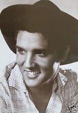 "ELVIS PRESLEY ""WEARING COWBOY HAT & SMILING"" ASIAN POSTER - Rock N' Roll Legend"