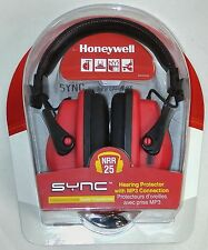 Honeywell RWS-53011C Sync Hearing Protector with MP3 Connection NRR25