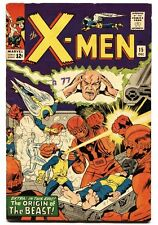Beast Silver Age X-Men Comics