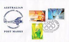 Permanent Commerative Pictorial Postmark - Brisbane 8 Jun 1996 - 90c